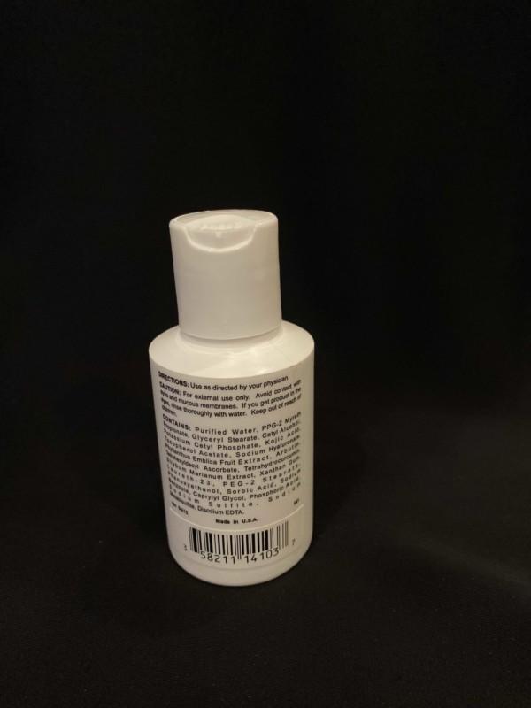 Erasure customizable brightening lotion_Back