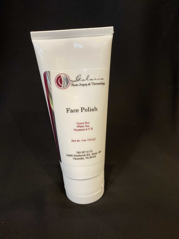 Face Polish heated bamboo scrub with green tea and antioxidants_front